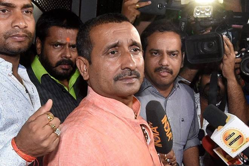 BJP MLA Kuldeep Singh Sengar Booked For Conspiracy To Frame Unnao Rape Victim's Father In Arms Case