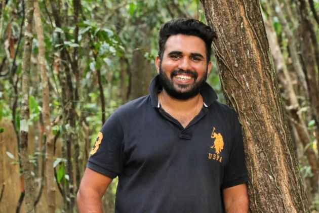 This Man Quit His Lecturer Post To Set Up Karnataka's First Private Butterfly Park At The Foothills Of Western Ghats