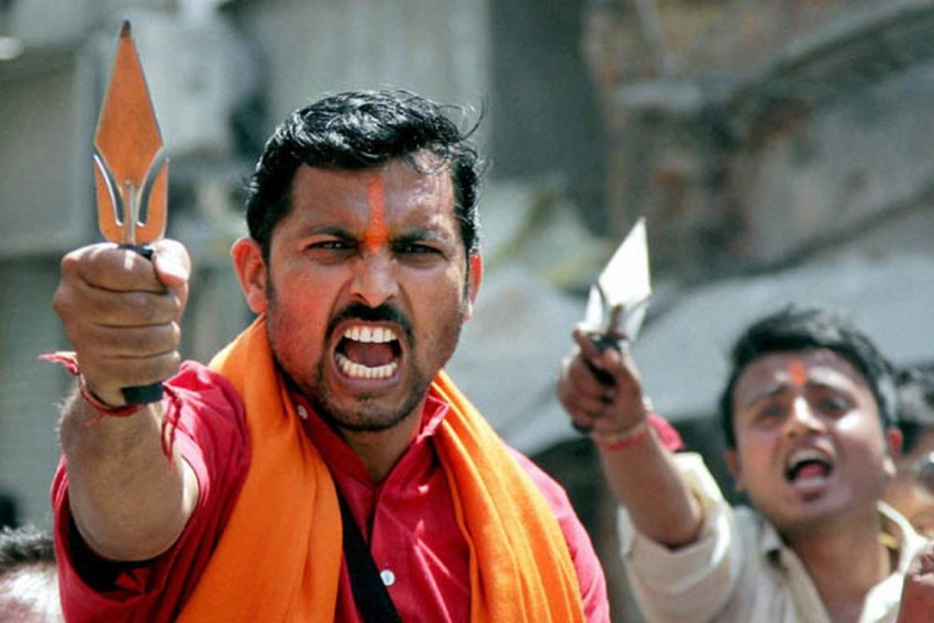 MP: Bajrang Dal Cadres Get Secret Arms Training To 'Tackle Anti-National, Love Jihad Elements'