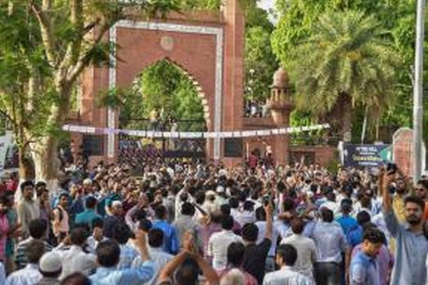 Jinnah Portrait In AMU: Section 144 Imposed In Aligarh, Internet Services Suspended