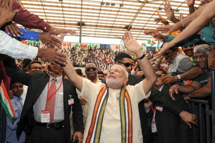 JD(S) Protecting Congress, They Have A 'Secret Pact', Alleges PM Modi In Karnataka Rally