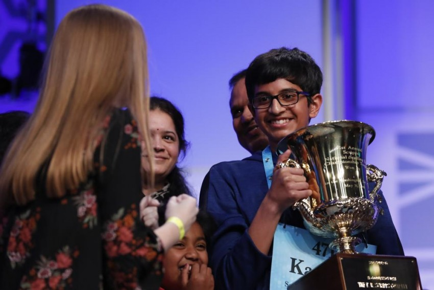 Indian-American Boy Wins Spelling Bee Title