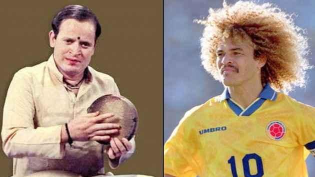 World Cup Soccer: How Valderrama Dribbled A Parallel With Carnatic Drummer Harishankar