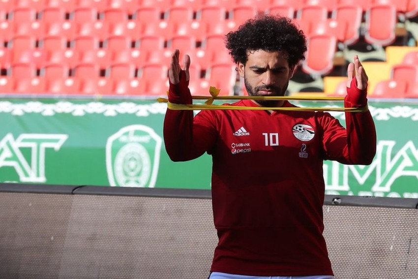 Mohamed Salah Shrugs Off Injury To Join Egypt Training