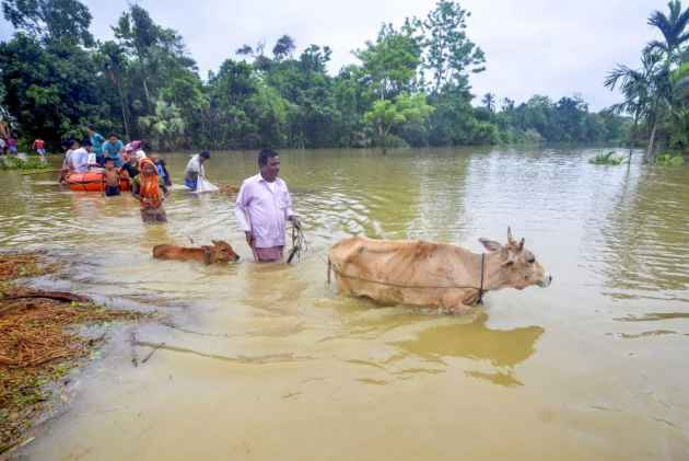 Heavy Rains Trigger Floods In Tripura, Manipur, Render Thousands Homeless