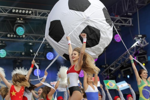 World Cup Football Kicks Off In Russia With A Spectacular Show