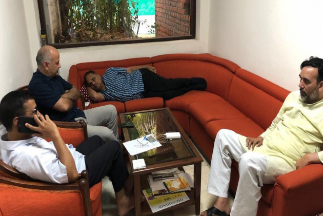 Sit-In Day 5: Can PM Modi Run Government Without Officers, Asks Kejriwal