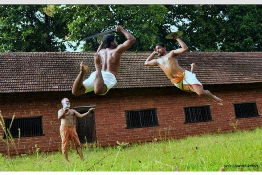 Meet Gangadharan, First Indian With A PhD On Kalaripayattu Who Later Became A Practitioner Too
