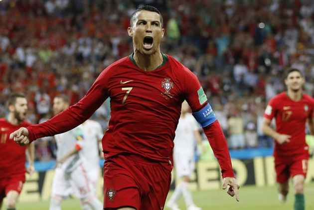 Goal Machine Ronaldo's Hat-Trick Saves Portugal In A Thriller Against Spain