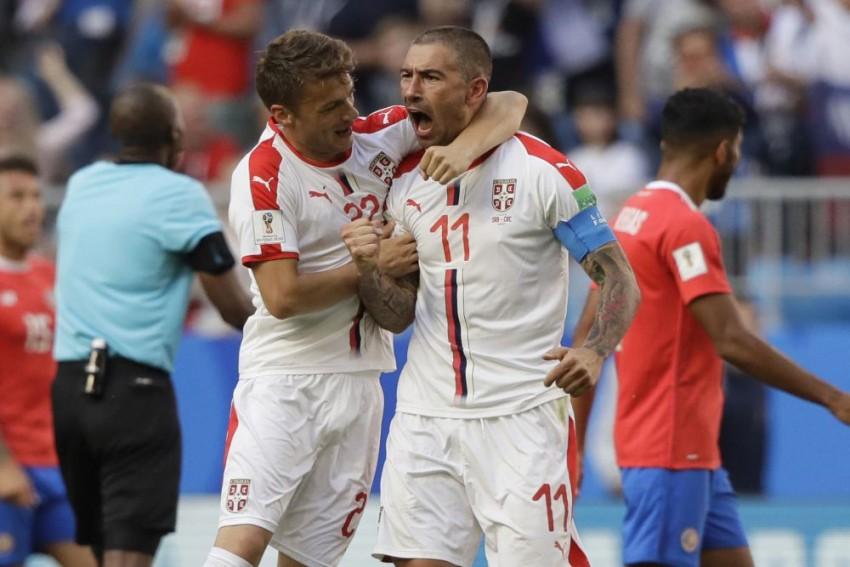 Aleksandar Kolarov Scores From Free Kick, Serbia Beat Costa Rica 1-0