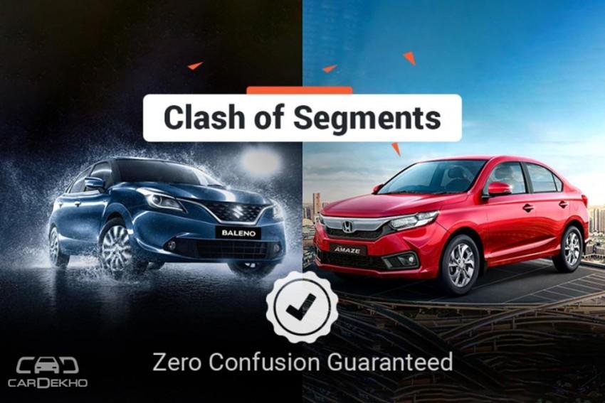 Clash Of Segments: Honda Amaze Vs Maruti Baleno - Which Car To Buy?