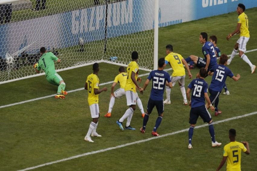 Japan Create History With World Cup Win Against 10-Man Colombia
