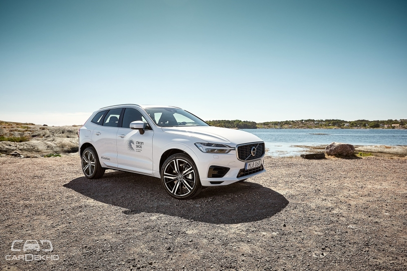 Volvo Commits To Environment With An XC60 Made Of Recycled Plastic Parts