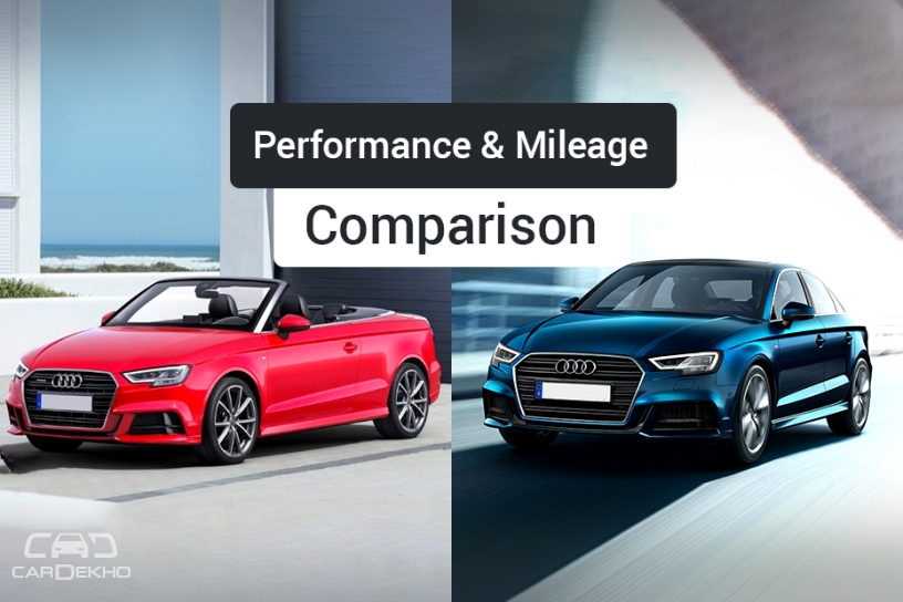 Audi A3 Sedan vs A3 Cabriolet: Performance, Mileage Comparison