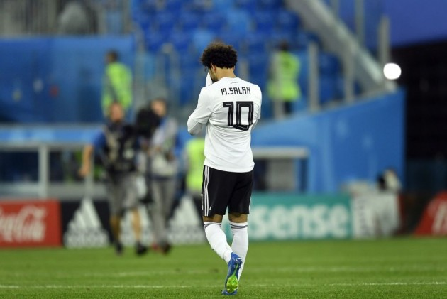 Salah's Goal Not Enough As Russia Stun Egypt, Close In On Last 16
