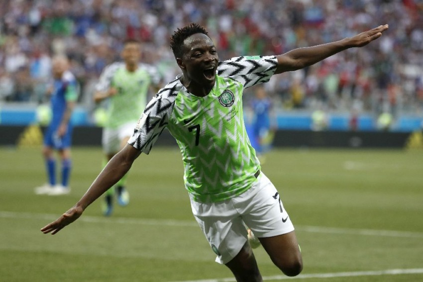 Ahmed Musa's Double Downs Iceland As Nigeria Come Alive