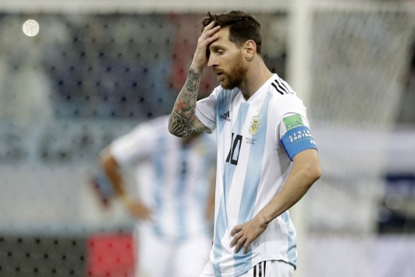 Messi, Argentina On Brink Of World Cup Exit As Croatia Dominates, 3-0
