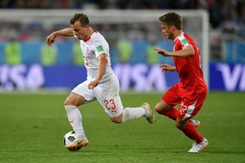 Last Gasp Shaqiri Seals Swiss Win Over Serbia In Group E