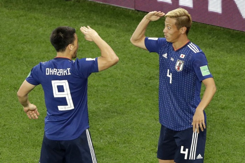 Substitute Keisuke Honda Hits Late Japan Leveller Against Senegal To Blow World Cup Group Wide Open