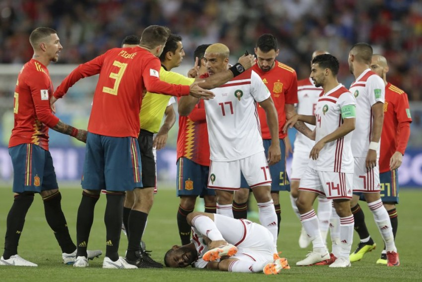 Spain Draw 2-2 With Morocco, Reach World Cup Round Of 16