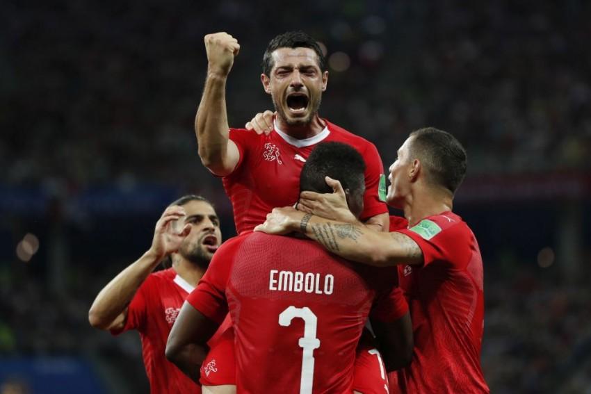 Switzerland Through To Last 16 After Draw Over Costa Rica But Lose Captain Lichtsteiner