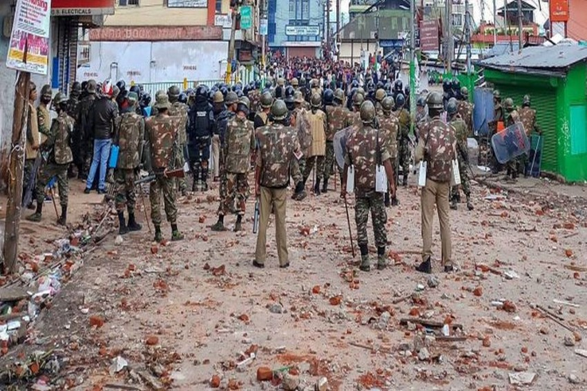 1,000 Central Paramilitary Personnel Sent To Shillong, Minorities Panel To Probe Violence