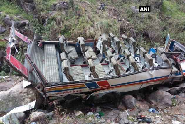 At least 47 Killed As Bus Falls Into Gorge In Uttarakhand's Pauri Garhwal