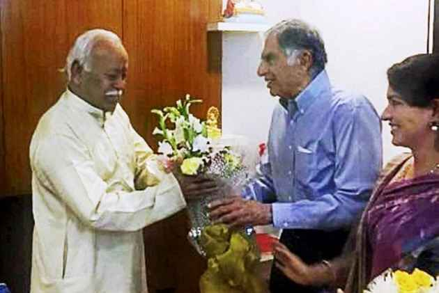 After Pranab Mukherjee, Industrialist Ratan Tata To Share Stage With RSS Chief
