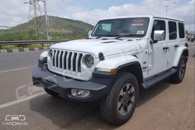 New Jeep Wrangler Could Get A 2 2-litre Diesel In India
