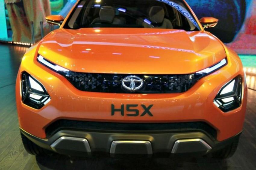 Tata H5X Rumoured To Be Called Harrier; Will Rival Hyundai Creta, Jeep Compass