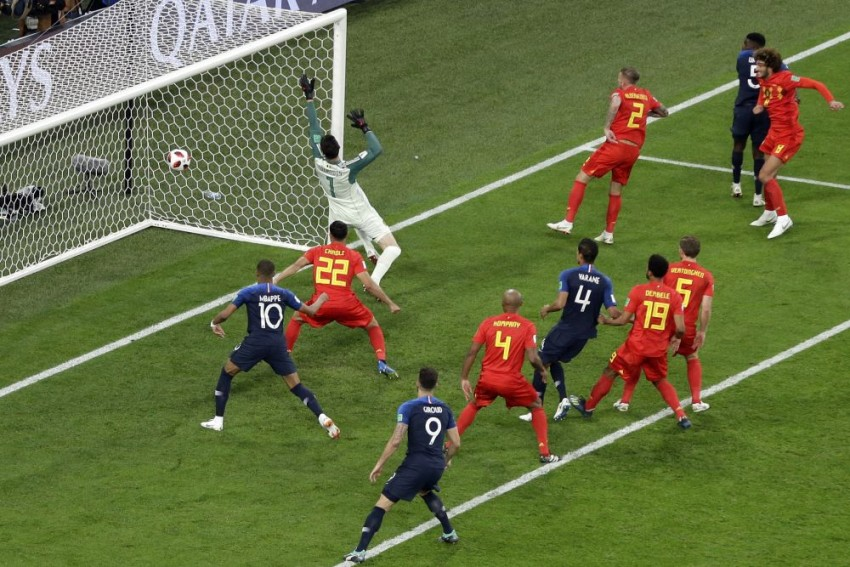 France Reach World Cup Final By Beating Belgium 1-0