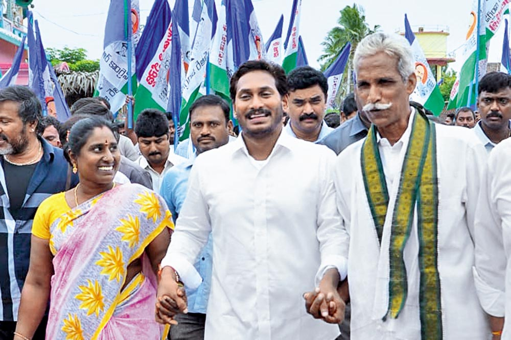 Ahead of Polls, Yatras, Dharnas And War Of Words In Andhra