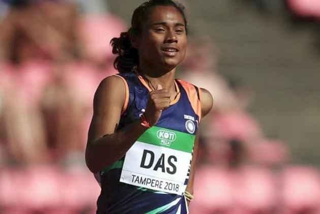 Athletics Federation's Tweet On Hima Das' English Sparks Row