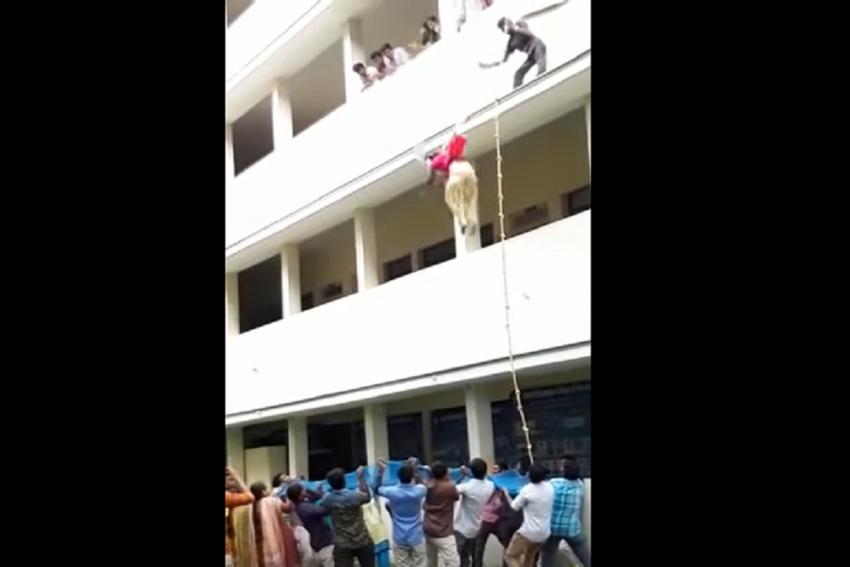 Video: College Student Dies During Disaster Preparedness Drill In Tamil Nadu