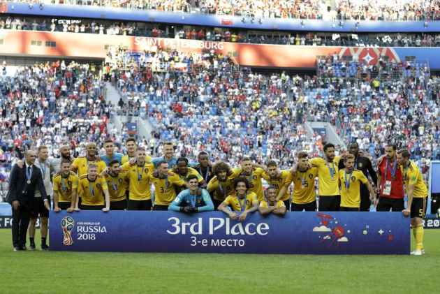 FIFA 2018: Belgium Finishes Third In World Cup Beating England 2-0