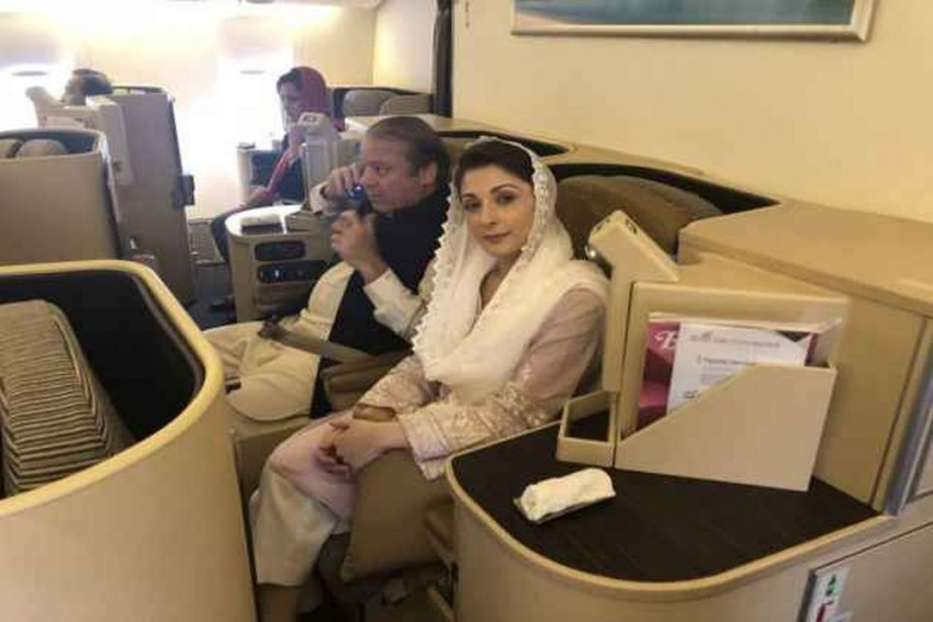 Here's How Sharif, Daughter Maryam Spent First Night In High-Security Adiala Jail In Rawalpindi