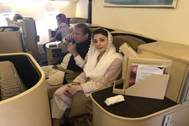 Here's How Sharif, Daughter Maryam Spent First Night In High-Security Adiala Jail In Rawalpindi