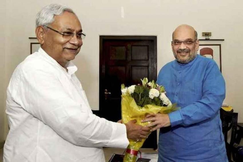 In Bihar, Despite Nitish-Shah Bonhomie, Seat Sharing A Challenge For NDA