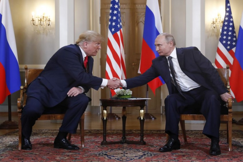 Trump Promises 'Extraordinary Relationship' As He Opens Summit With Putin
