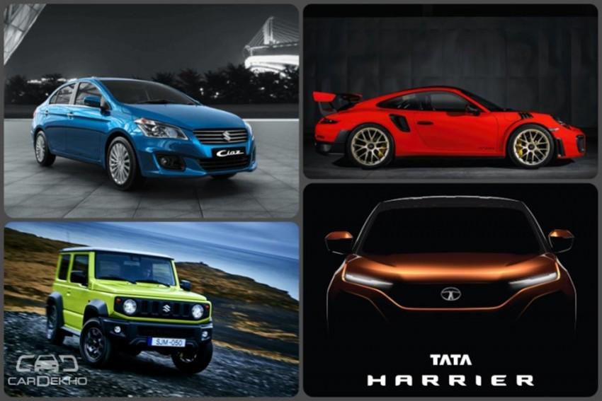 Weekly Wrap-up: New Hyundai Santro & 2018 Maruti Ciaz Launch Details, Tata Harrier Teased & More