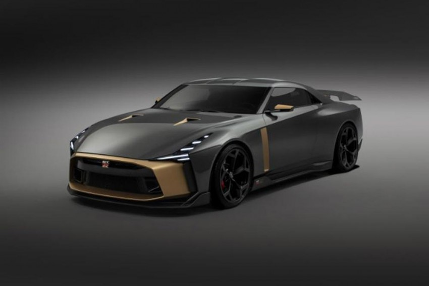Nissan GT-R50 Mixes Japanese Power With Italian Flair