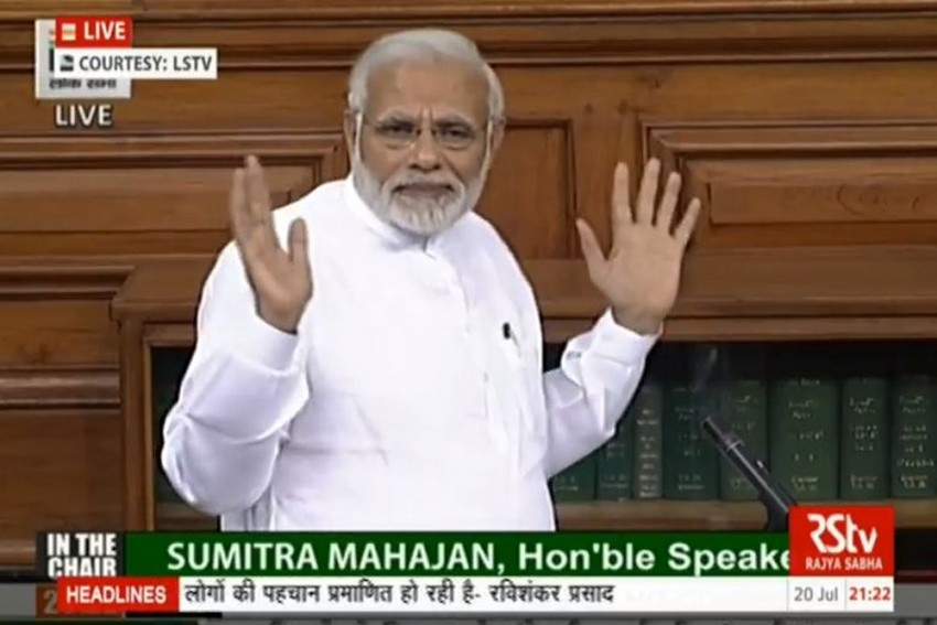 No-Confidence Motion A Result Of Opposition's 'Arrogance': PM Modi