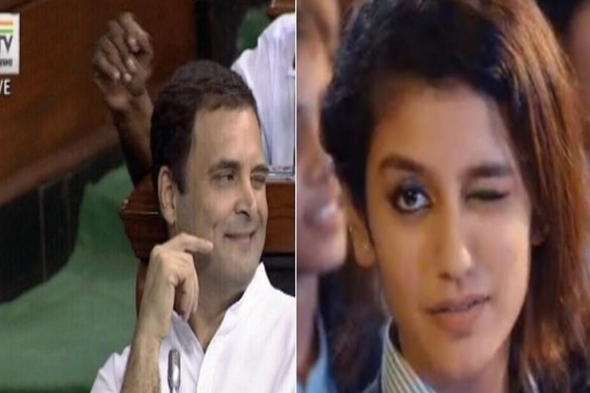 'Who Is Better, Rahul Gandhi Or Priya Varrier?': How Twitterati Reacted To Congress Chief's Wink