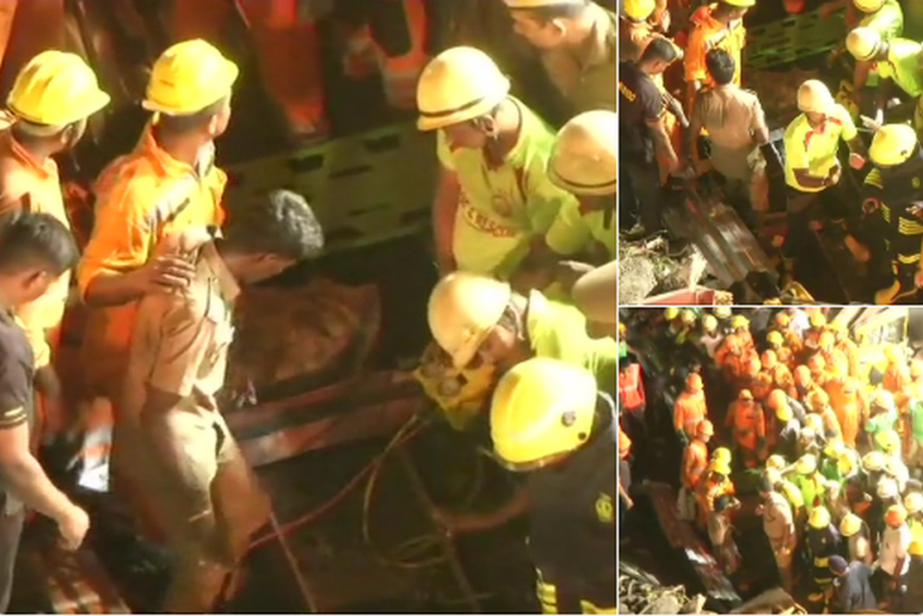 Chennai: 1 Killed, 17 injured After Building Collapses, Search Concluded Says NDRF