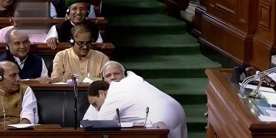 To Hug Or Not To Hug: Debate At CWC Meet Over Rahul Gandhi's <em>Jaadu Ki Jhappi</em>