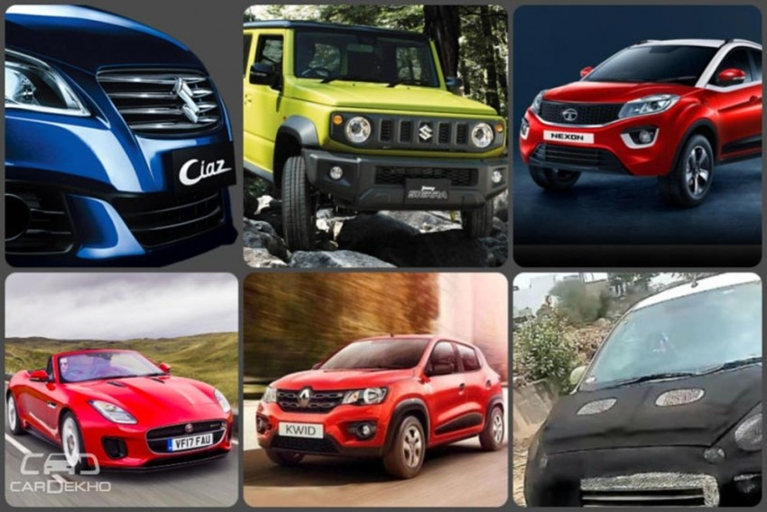 Weekly Wrap-up: Hyundai Santro & 2018 Renault Kwid Spied, Jimny & Thar Compared, & More