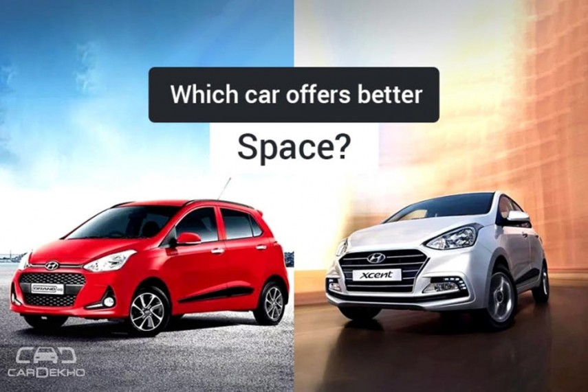 Hyundai Grand I10 Vs Xcent Which Is More Spacious