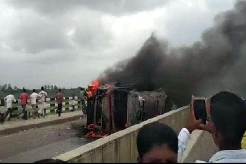Maharashtra: Maratha Quota Agitation Escalates, Constable Killed In Stone-Pelting