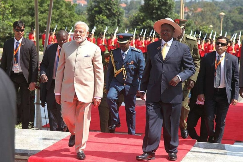 India To Strengthen Cooperation With Africa In Combating Terrorism: PM Modi