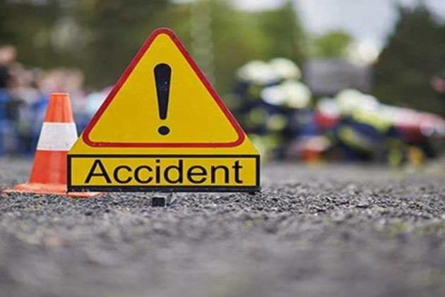Woman, Grandson Killed In Delhi As Car Gets Crushed Between Buses